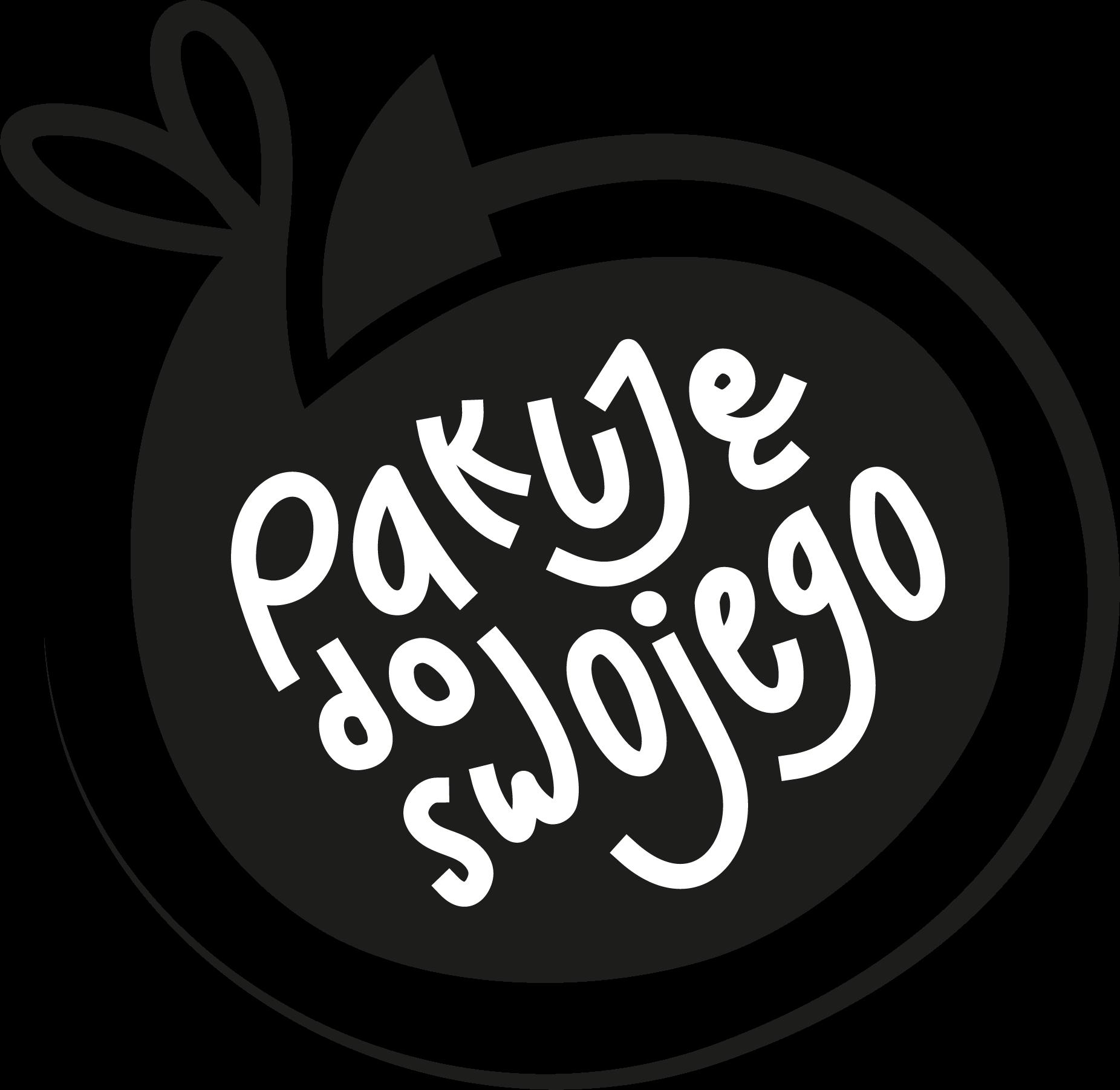 logo Pakuję do swojego przezroczyste tło