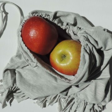 Як зробити мішечок для покупок без шиття? Проста інструкція